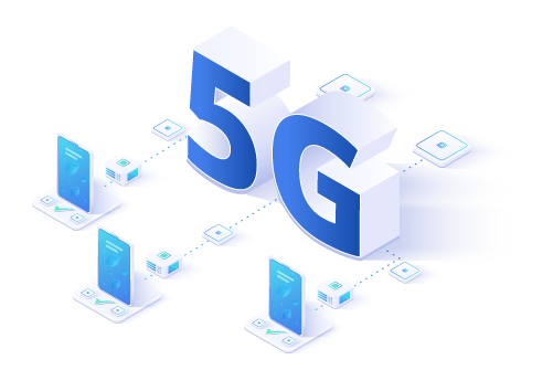 5G 3D graphics with devices